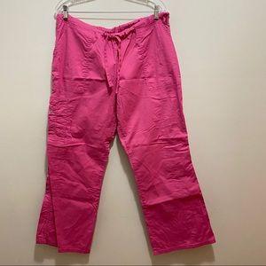 Cherokee Workwear Pink Scrub Pants